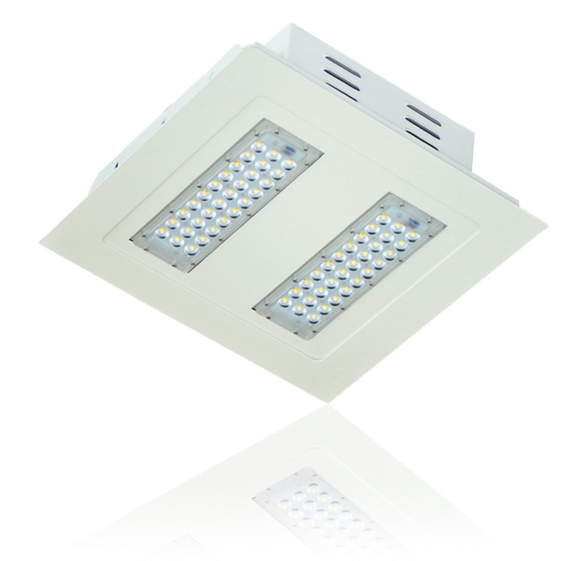 Outdoor commercial led lights ledlighting solutions canopy lights aloadofball Choice Image