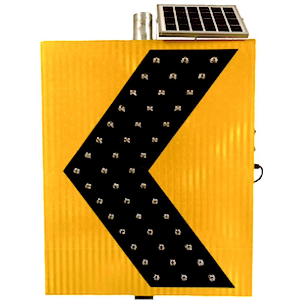 Ledlighting Solutions Com 30 Quot Solar Powered Led Flashing Curve Yellow