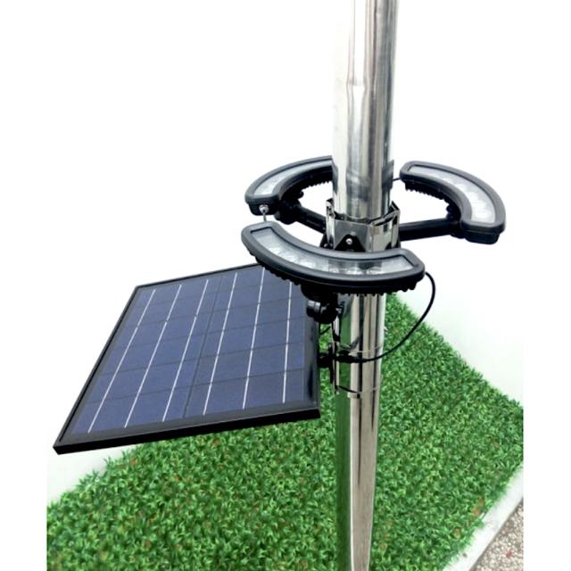 1400lm Solar Led Flag Pole Light